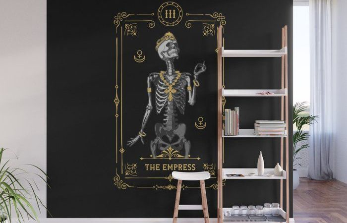 Décoration Murale Design  : The Empress III Tarot Card Wall Mural #mural #wallmural #society6 #artwork #Grap…