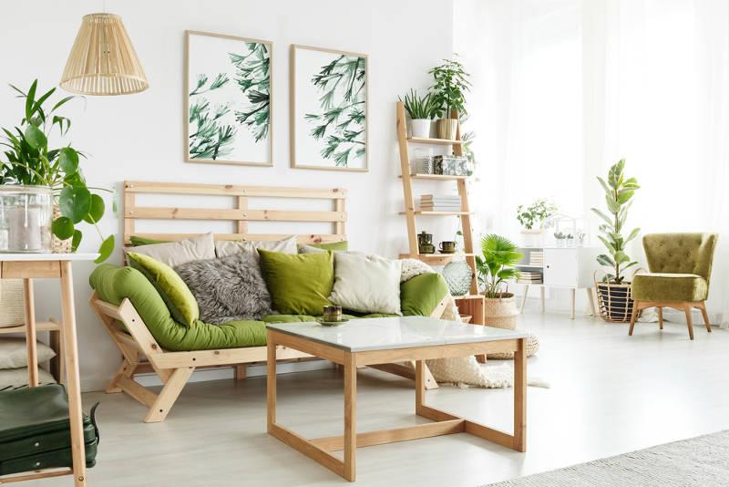 idées de meubles verts