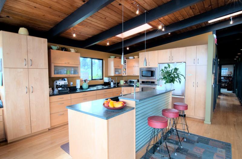 Maison moderne et rénovée à Seattle