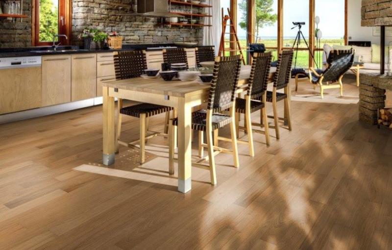 Plancher en bois