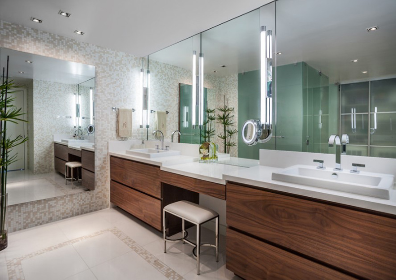 Salle de bain principale Jade