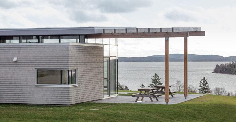 Maison à Scotch Cove extérieur