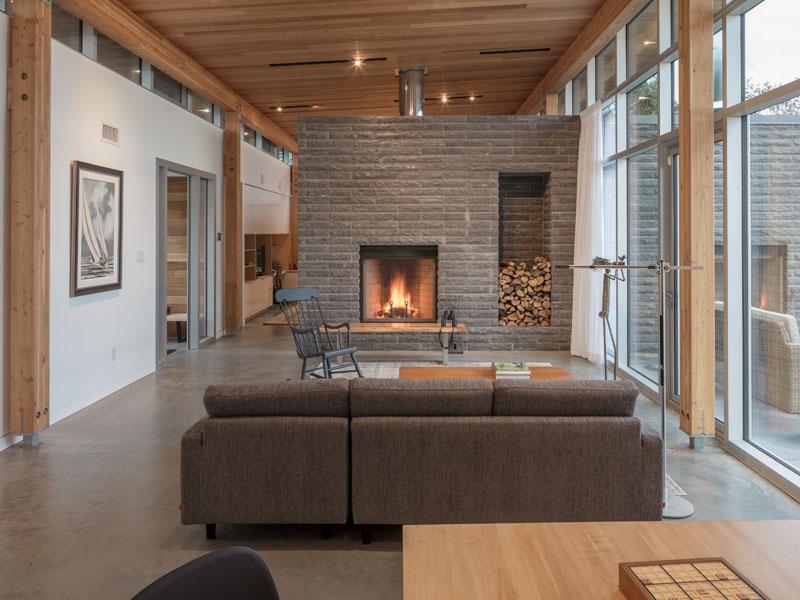 Maison dans le salon Scotch Cove
