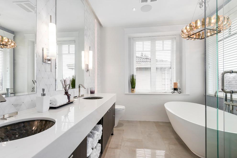 17 designs de salle de bains contemporains avant garde qui vous couperont le souffle