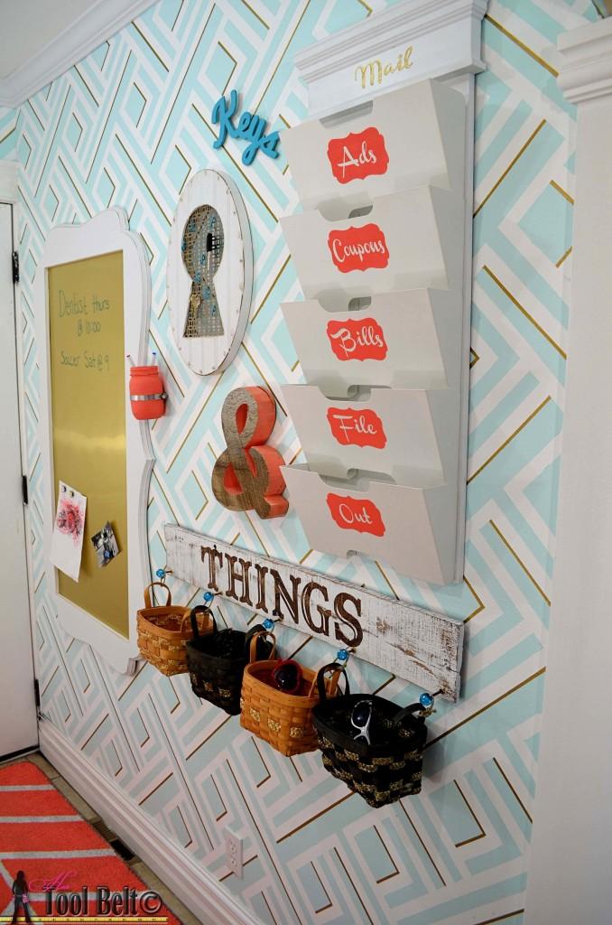 Facile bricolage pour organiser votre fouillis de papier