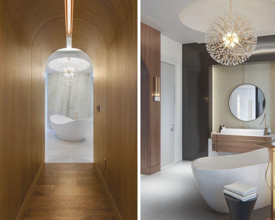 Bath conçu par Sandra Diaz-Velasco Photographie par Eugenio Wilman - Double photo