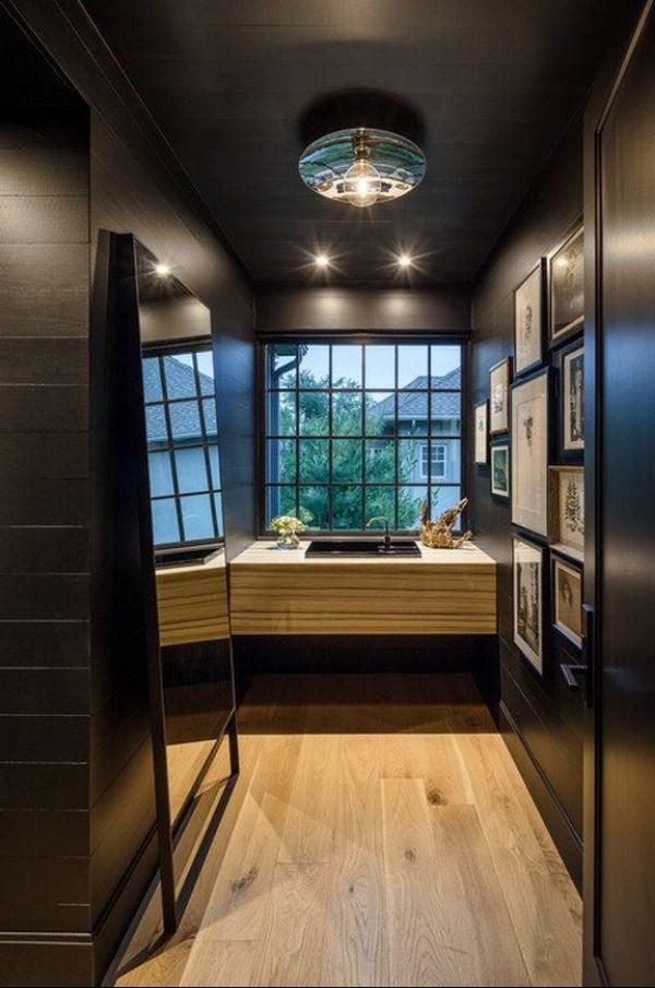 Salle d'eau conçue par Janik Lemery; Photographie de Justin Van Leeuwen de JVL Photography