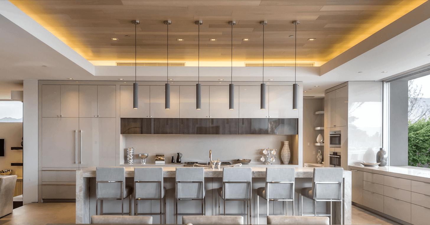 Une cuisine conçue par Philip Nikolich. Photographie d'Angie Agostino. je