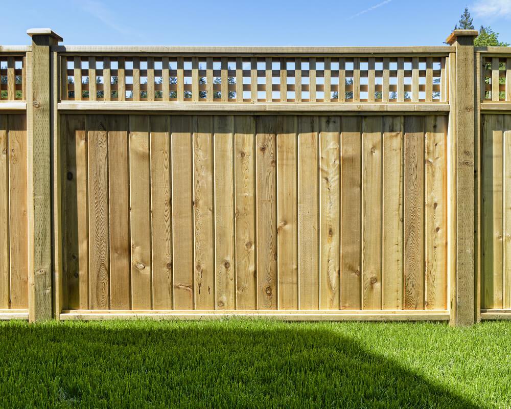 Matériel de clôture Style de treillis
