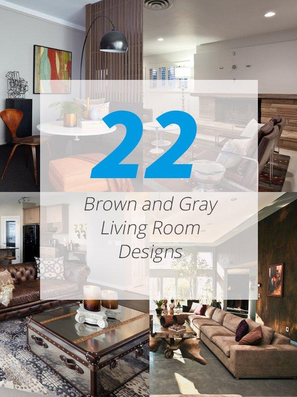 salon gris brun