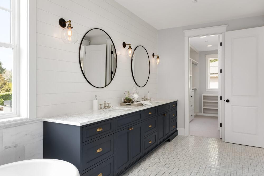 Idées de salle de bain Shiplap