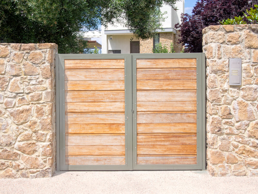 Matériaux de clôture Wood Gate