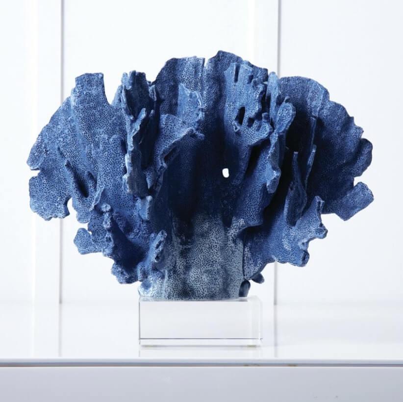 Corail Bleu Zen Coloré