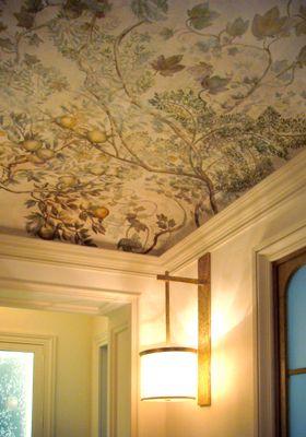 Decoration Murale Design Trompe L Oeil Chinoiserie By L