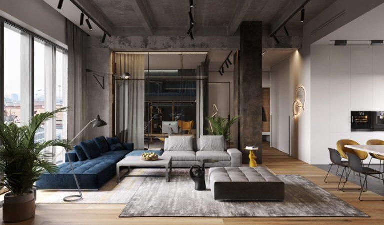 Décoration : La fusion de trois appartements pour faire un loft incroyable