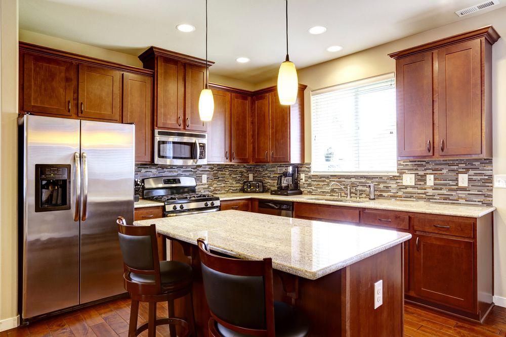 La cuisine en forme de L peut être plus chère que les configurations d'office.