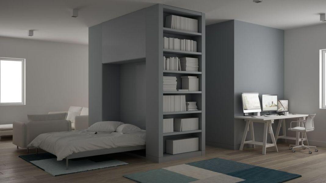 Les lits escamotables maximisent le petit espace