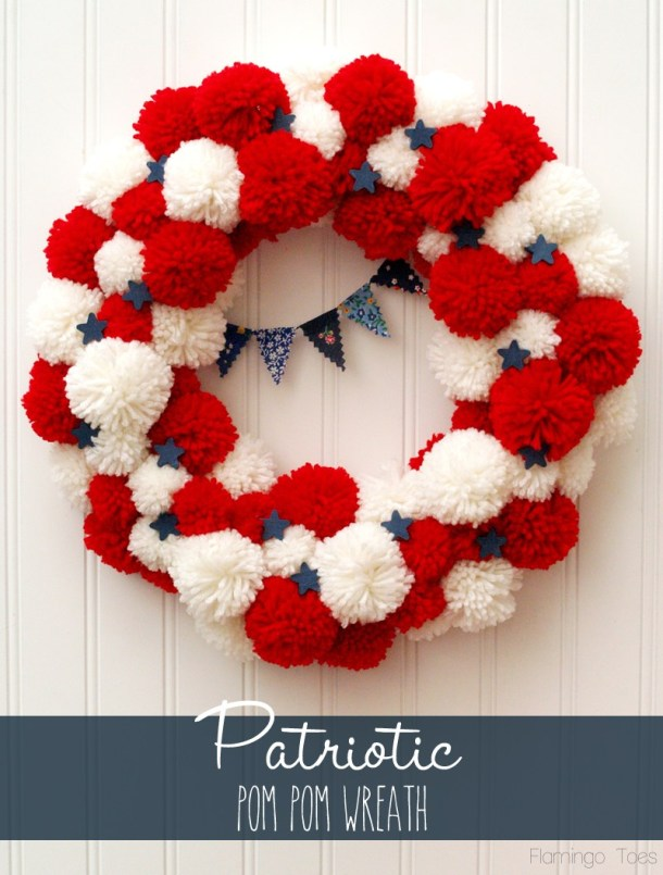 15 décorations faciles pour le 4 juillet pour vous plonger dans l'esprit des fêtes (1ère partie)