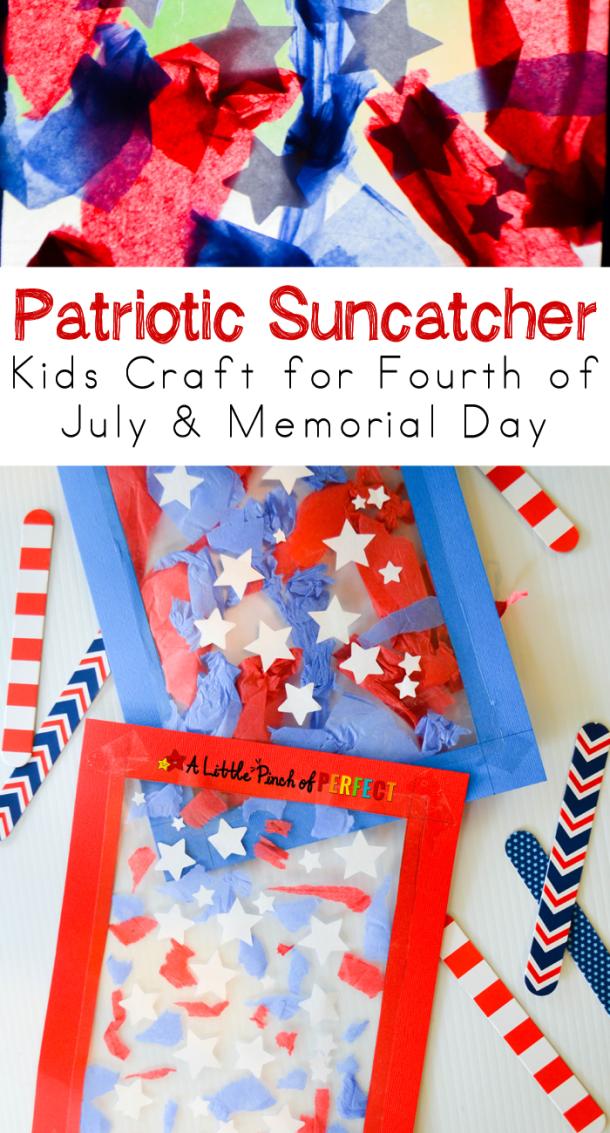 15 artisanat du 4 juillet facile pour les enfants (partie 1)