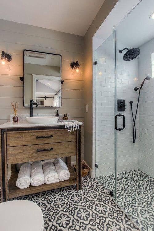 Tendance des parois de douche