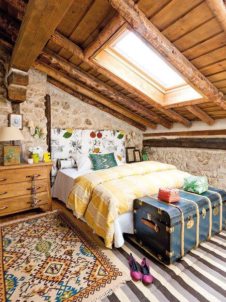 Chambres en pierre rustique