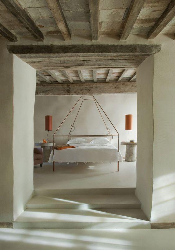 Chambres rustiques modernes