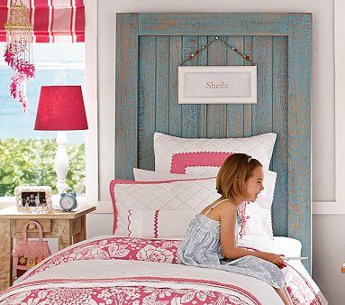 Idées de tête de lit originales avec des matériaux recyclés