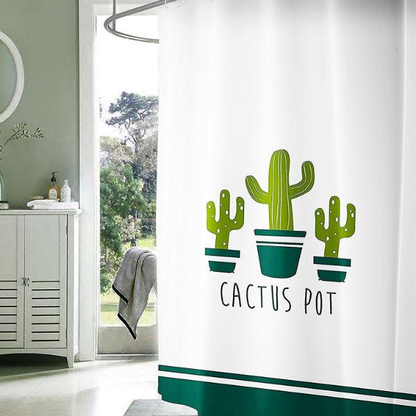 Rideaux de douche d'origine: cactus