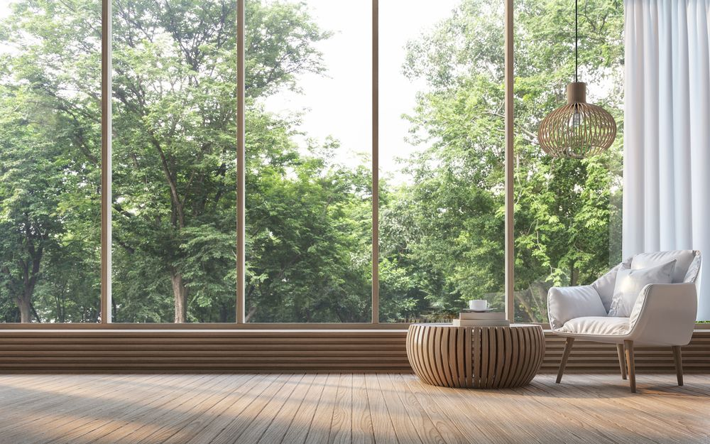 Le remplacement des fenêtres peut augmenter l'efficacité énergétique. Image: Onzon / Shutterstock