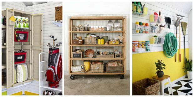 7 idées d'organisation de garage faciles