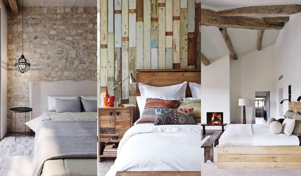 Chambres rustiques avec charme et personnalité