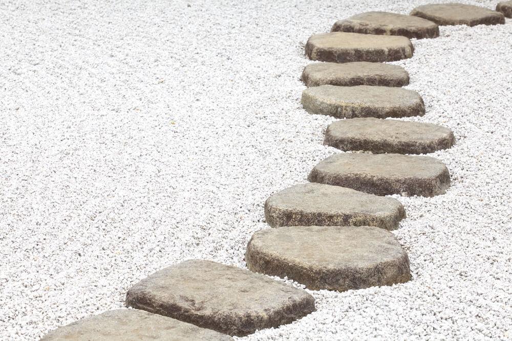 Trottoir Sentiers Jardin Zen