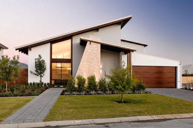 Types uniques de styles de toiture modernes