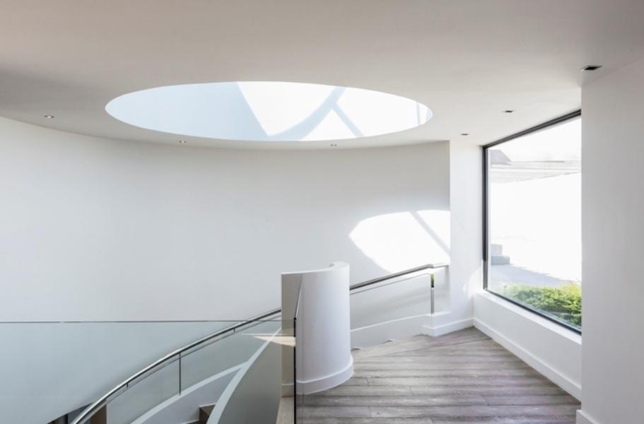 Dôme plafond lumière du soleil