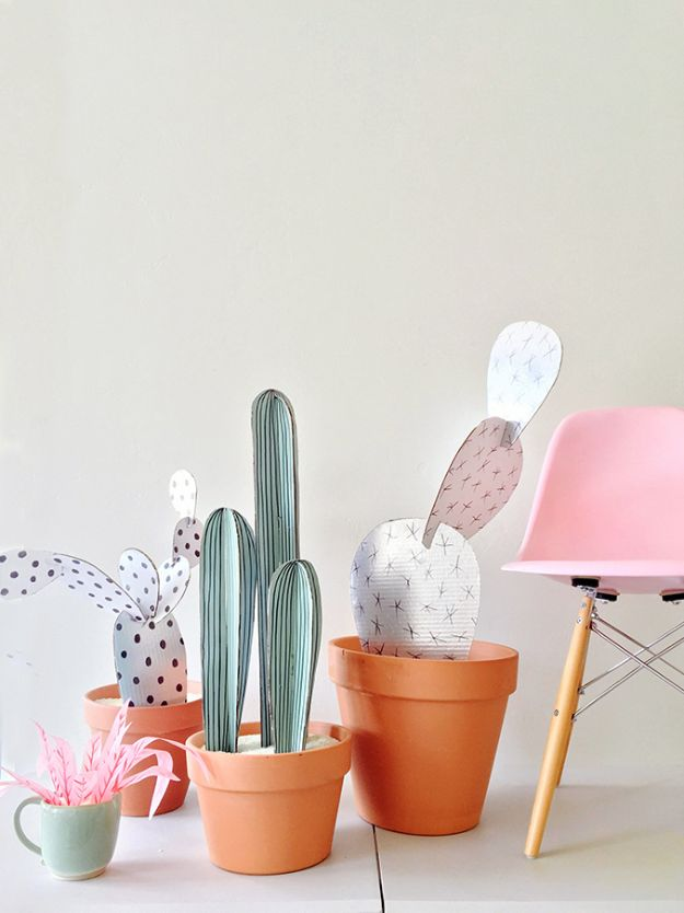 15 projets créatifs d'artisanat et de cactus (partie 2)