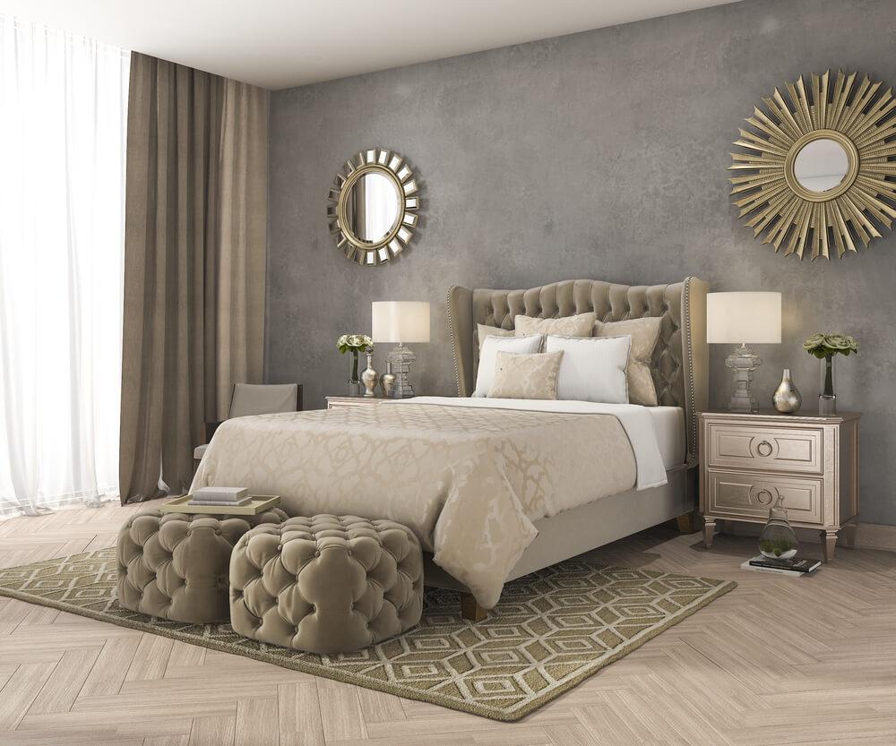 Les chambres sont luxueuses et confortables.