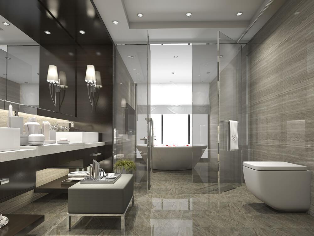 Les salles de bain recréent des expériences de spa.