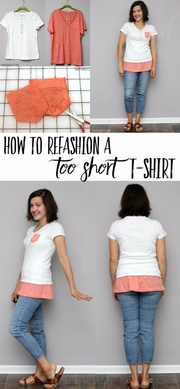 Idées de bricolage: 15 relookings de t-shirt (2e partie)