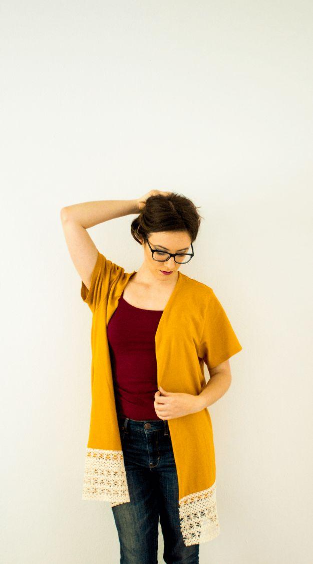 Idées de bricolage: 15 relookings de t-shirt (partie 1)