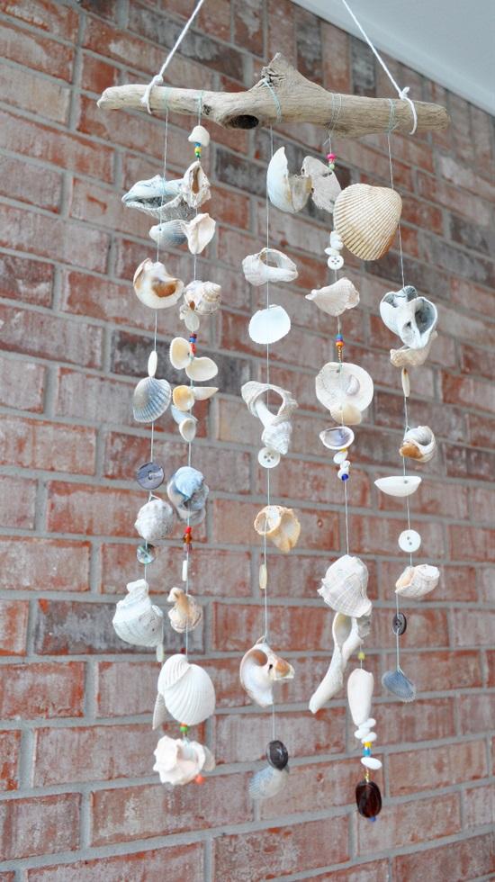 15 idées bricolage carillons éoliens simples et belles