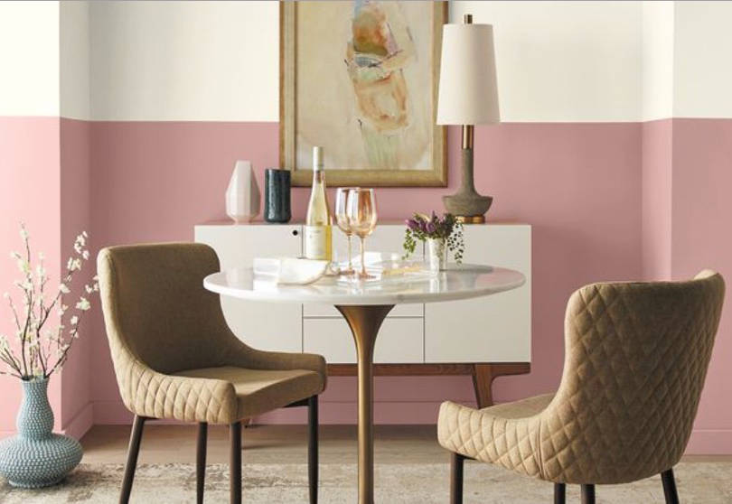 Behr 2020 couleurs tendances Bubble Shell