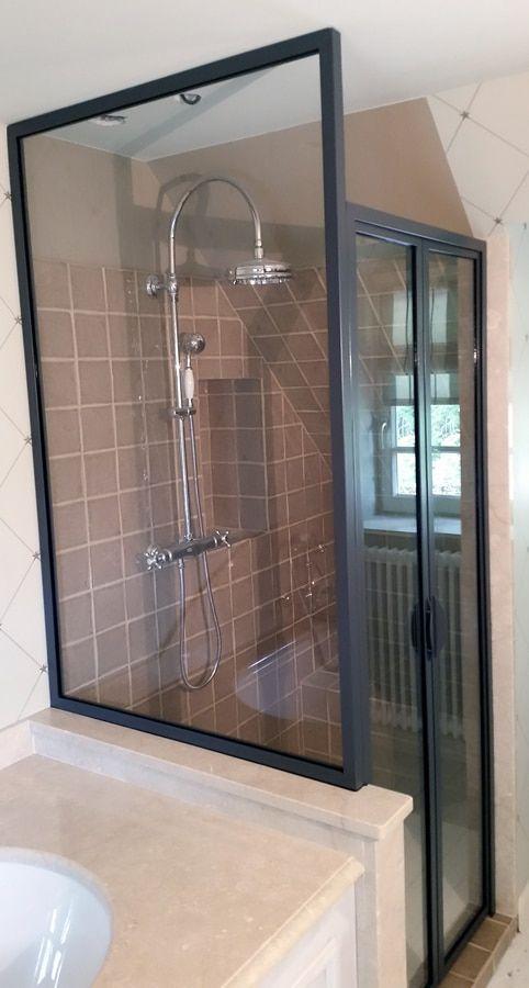 Salles de bains & Douches à l\'italienne : Une verrière comme ...