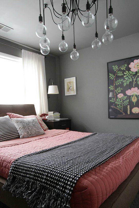 Décorer la chambre en gris