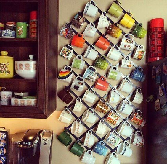 7 jolies façons de ranger vos tasses