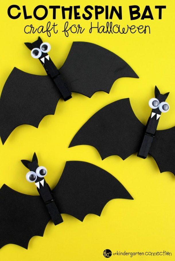 15 artisanat facile de chauve-souris d'Halloween pour les enfants