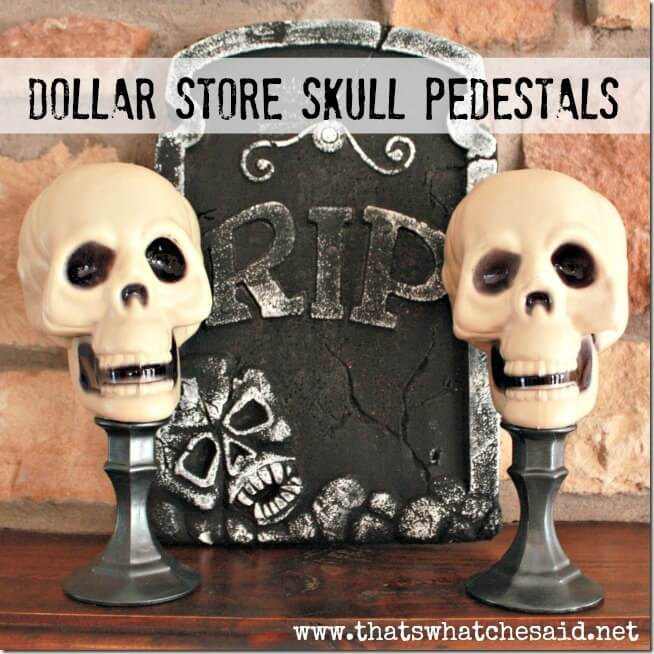 16 Easy Dollar Store DIY Décor Halloween à essayer
