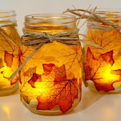 15 projets de décoration faciles pour l'automne (partie 1)