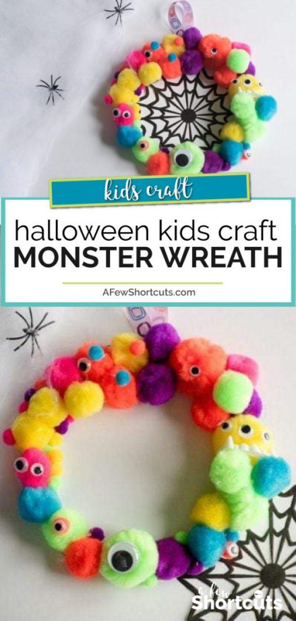 15 artisanat de monstre pas si effrayant pour les enfants (partie 1)