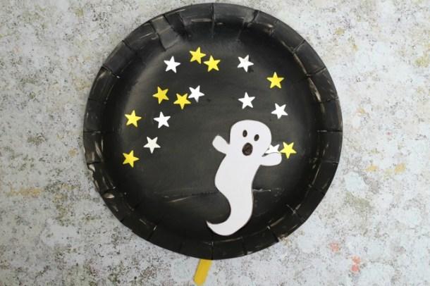 15 artisanat fantôme Halloween non effrayant pour les enfants
