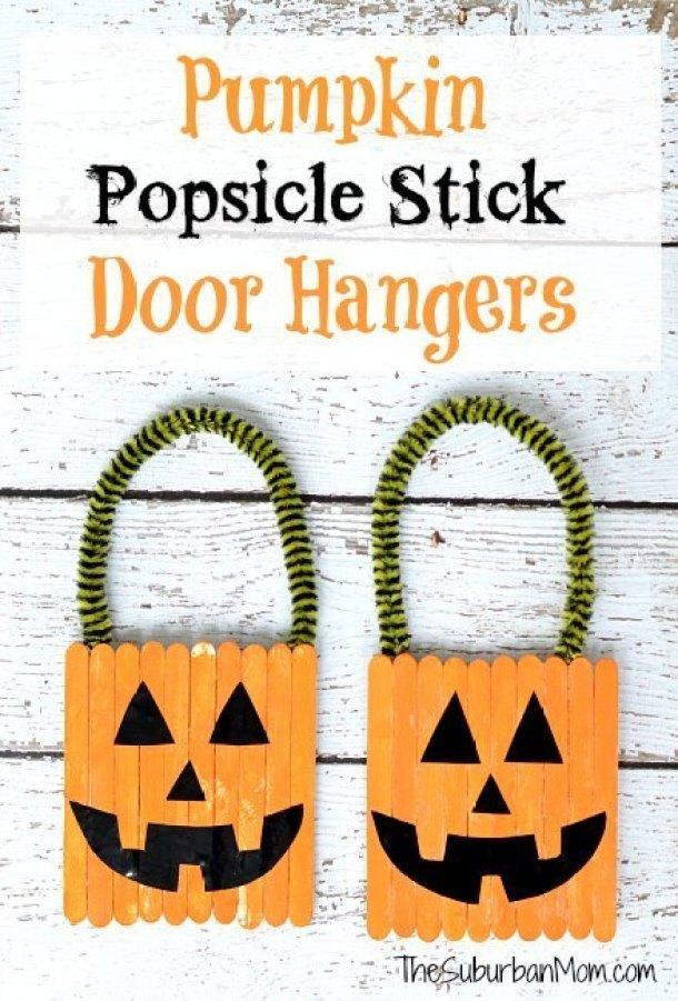 15 métiers de citrouille d'Halloween mignons et faciles pour les enfants (partie 2)